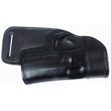 Кобура поясная Форт 17 кожаная формованная трехслойная для ношения за спиной