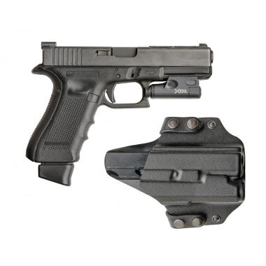 ПОЯСНАЯ, ПЛАСТИКОВАЯ КОБУРА A-line ПК54 ДЛЯ Glock-17/18/19
