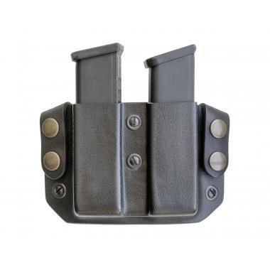 Подсумок пластиковый для двух магазинов Glock a-line пп51