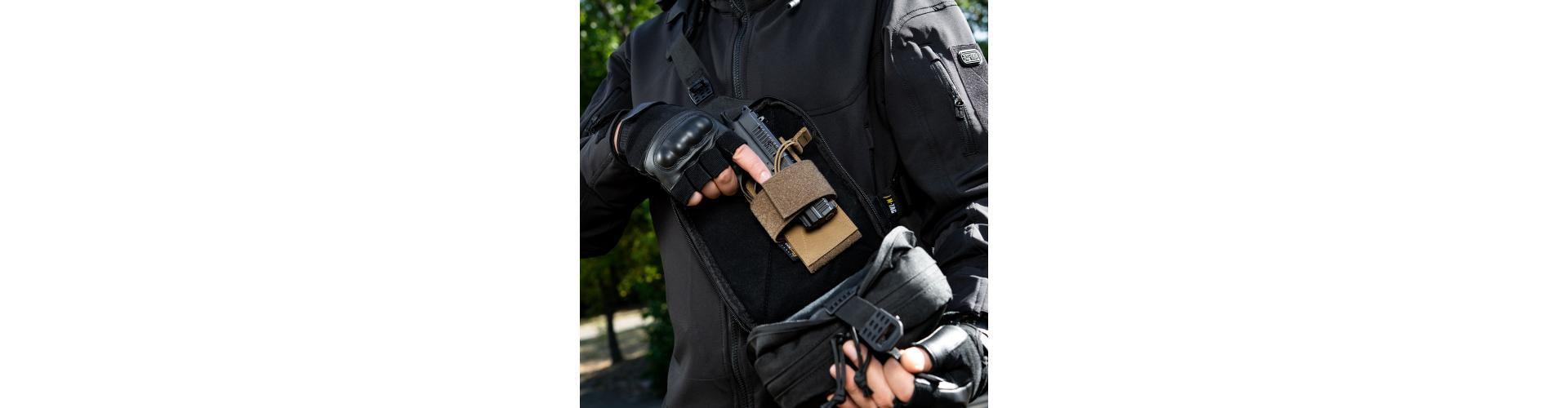Обзор m-tac сумка cube bag black